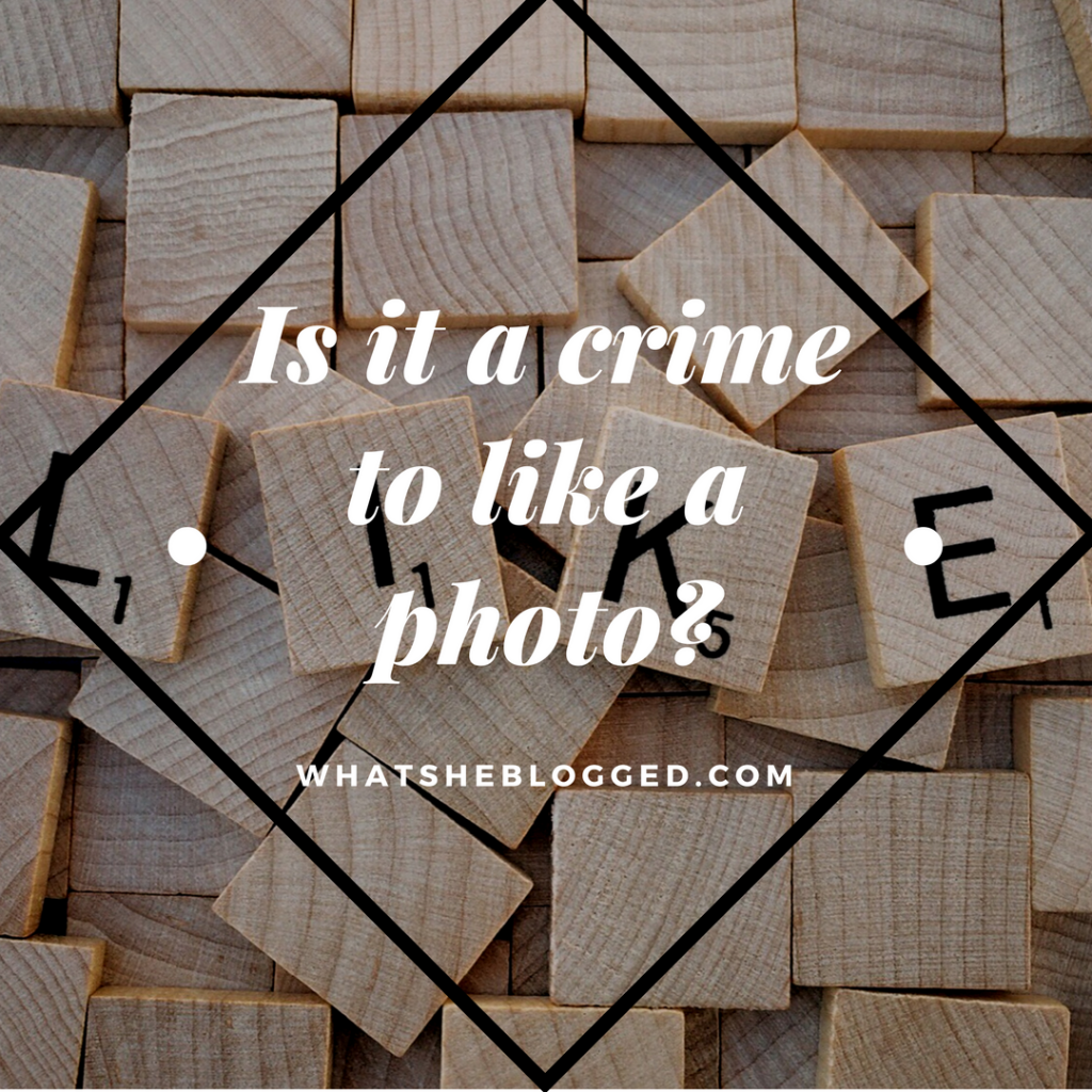 Relationship 411: Is liking a photo a crime?
