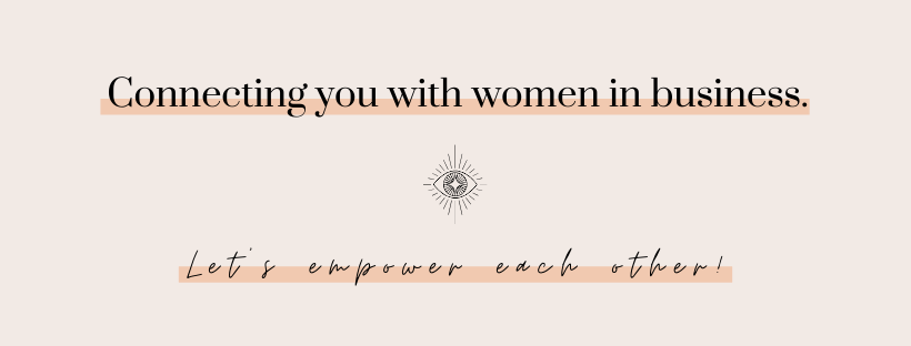 Connecting you with women in business.