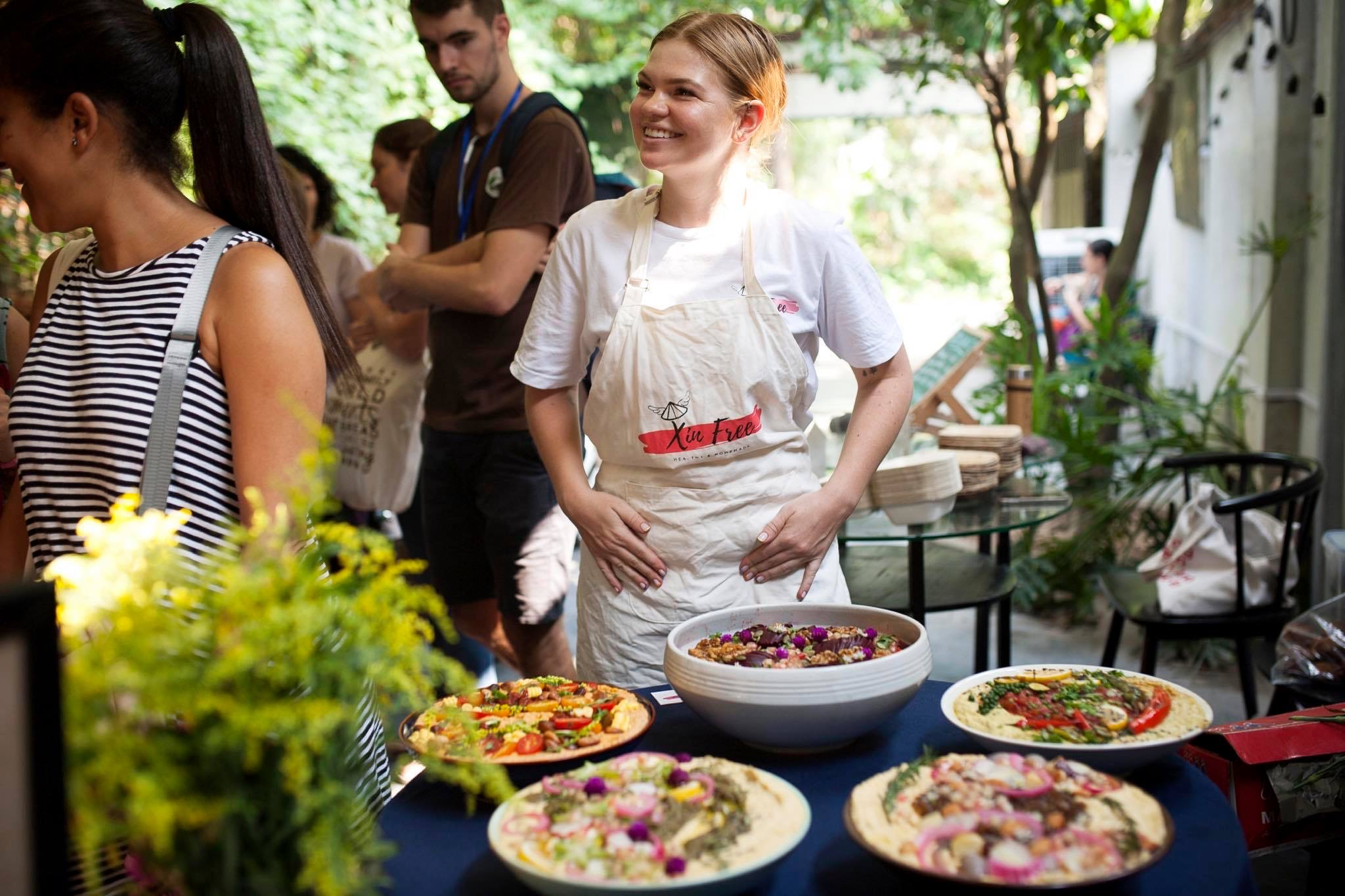 How to Own a Vegan Catering Business in Vietnam with Xin Free
